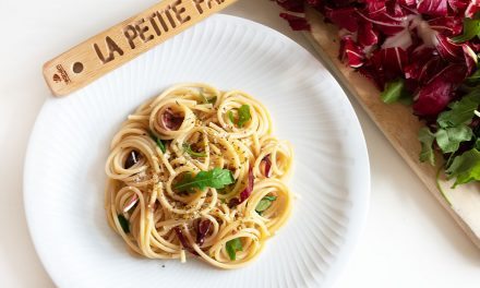 Pasta mit Rucola und Radicchio
