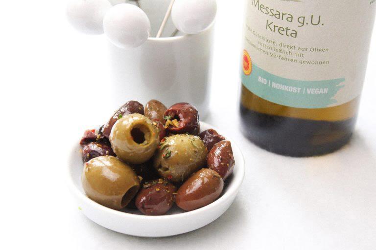 Oliven selbst einlegen
