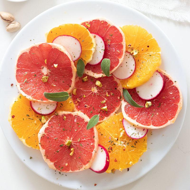 Grapefruitcarpaccio