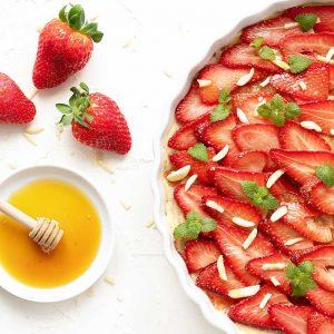 Erdbeertarte – Tarte aux fraises