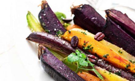 Geröstete Bio Karotten mit Ahornsirup