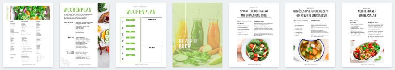 E-Book Starter Kit Vegetarisch für Anfänger